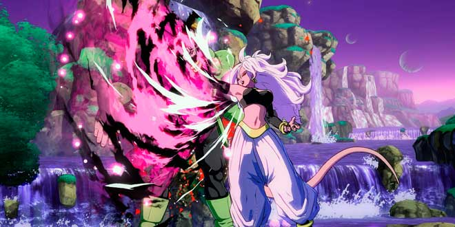 Androide 21 entra en la pelea de Dragon Ball FighterZ